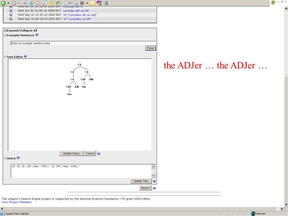 the ADJer …