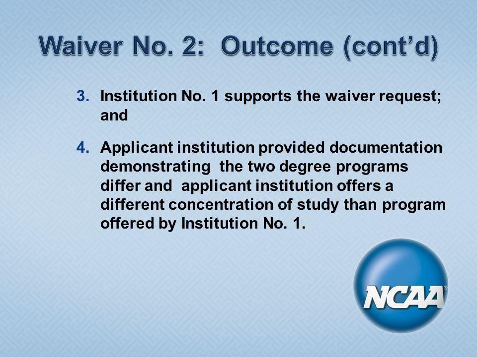 3.Institution No.