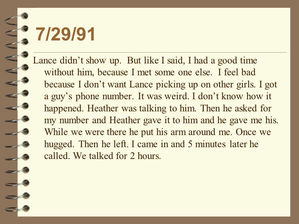 Description of the Next Day 1/10/95