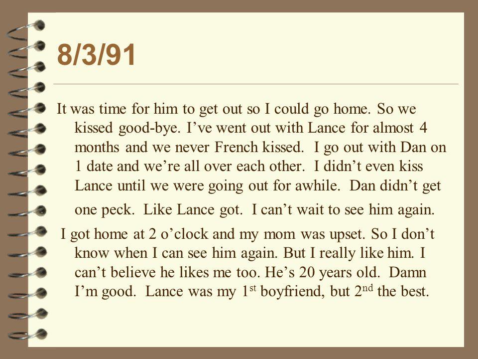 1/11/95 Danny's Arrest Report Subj.[Danny Stewart] killed his girlfriend, vict.