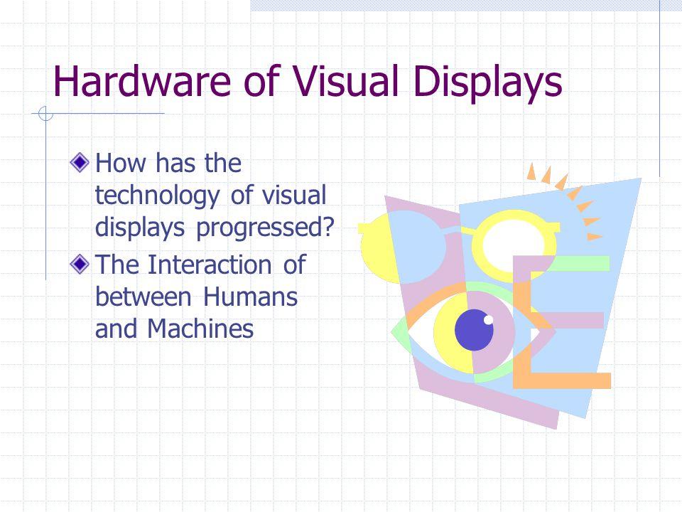 Hardware of Visual Displays By Brandi Barron