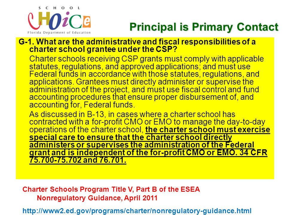 Commingling Commingling of grant funds is prohibited: Only the school that receives the grant award may benefit from the award.