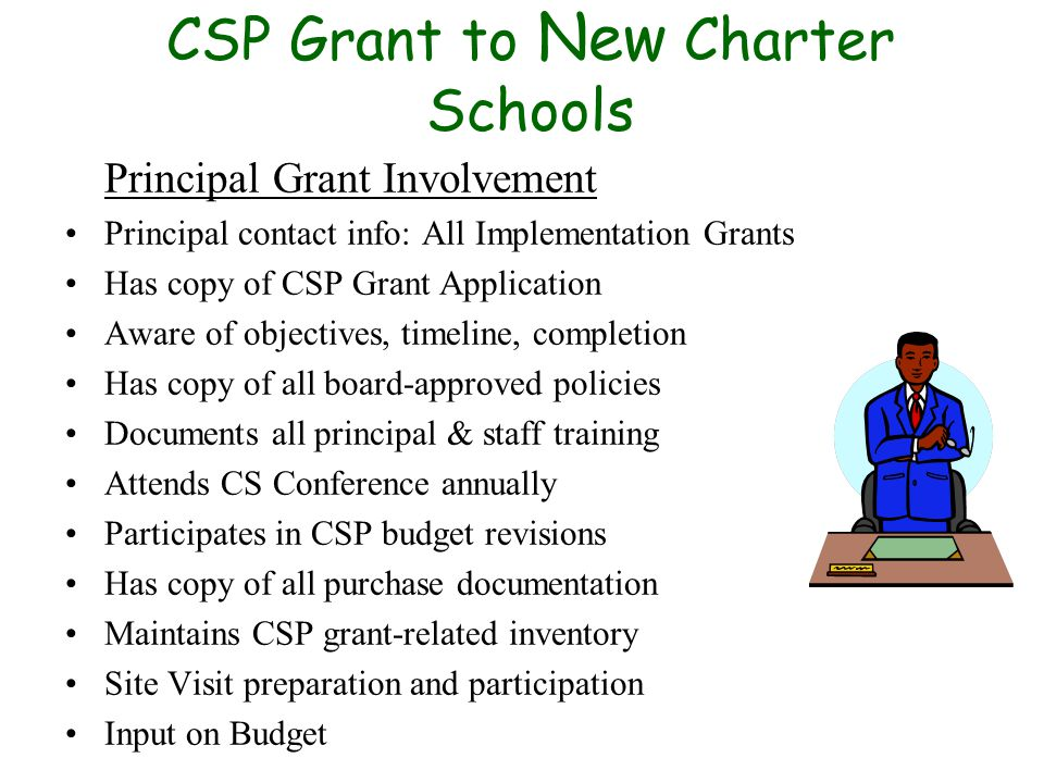 Co-located Schools Separate each school's: Leadership Admissions Marketing Grant Funded Items/Labeling Receipts Signage Physical space These factors are reviewed during the school monitoring visit.