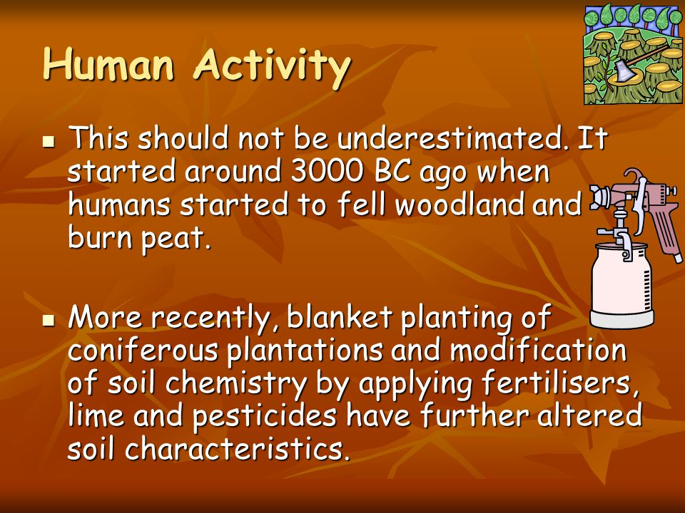 Time Time is critical in the development of soils before they are fully mature. Time is critical in the development of soils before they are fully mat