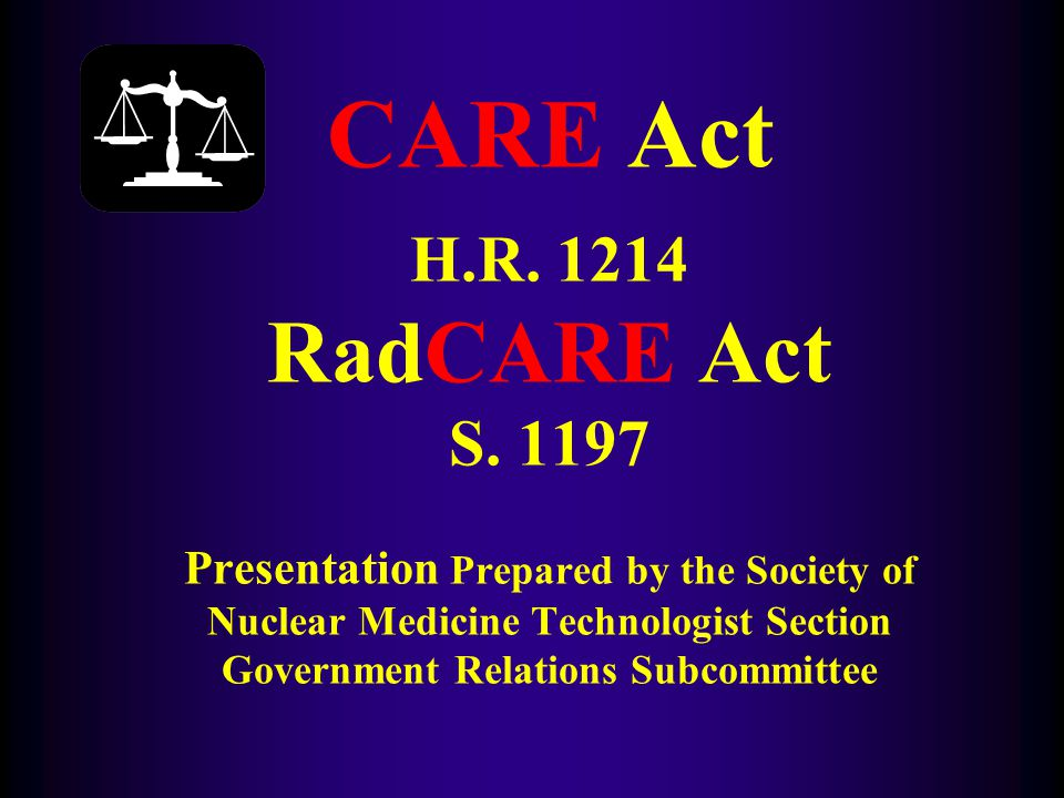What is CARE & RadCARE.
