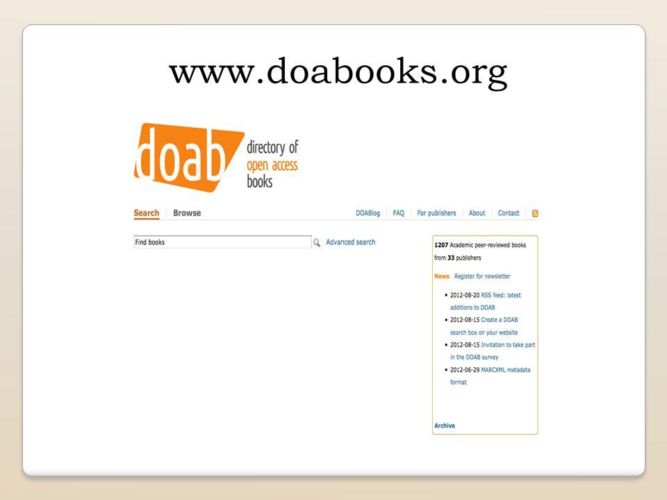 www.doabooks.org