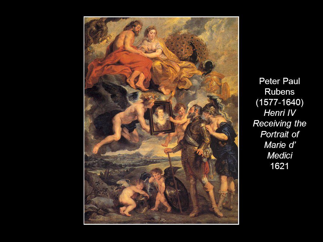 Peter Paul Rubens (1577-1640) Henri IV Receiving the Portrait of Marie d' Medici 1621