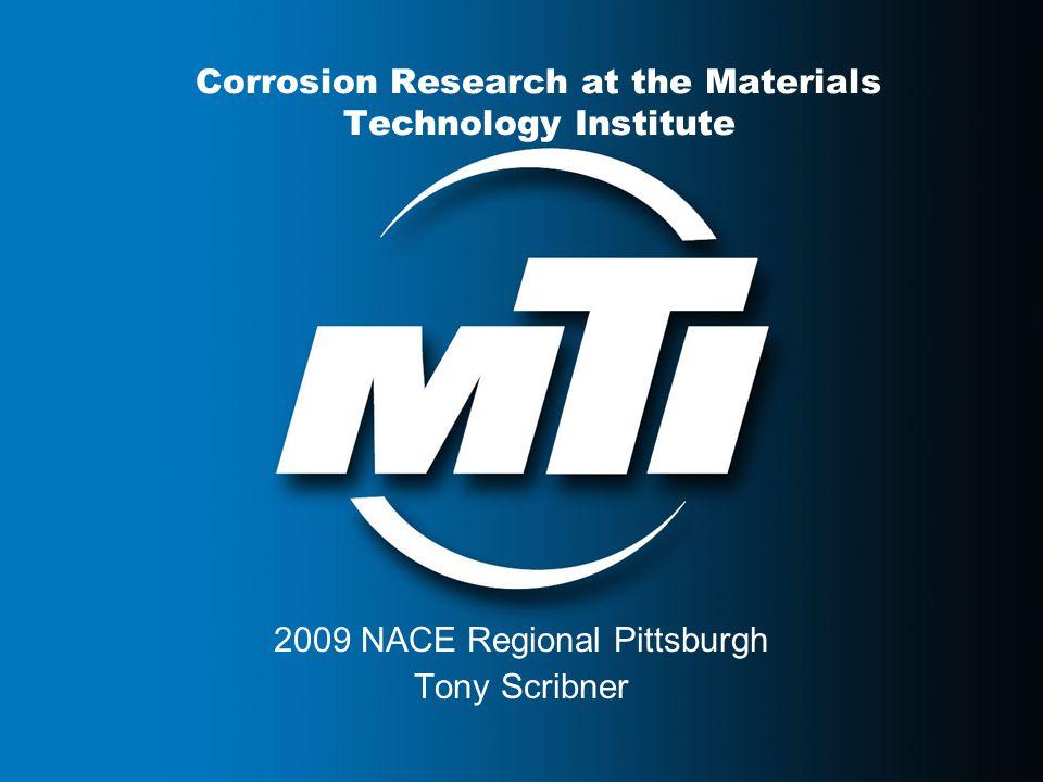4/18/2015MTI presentation12 Detection of Corrosion Under Insulation