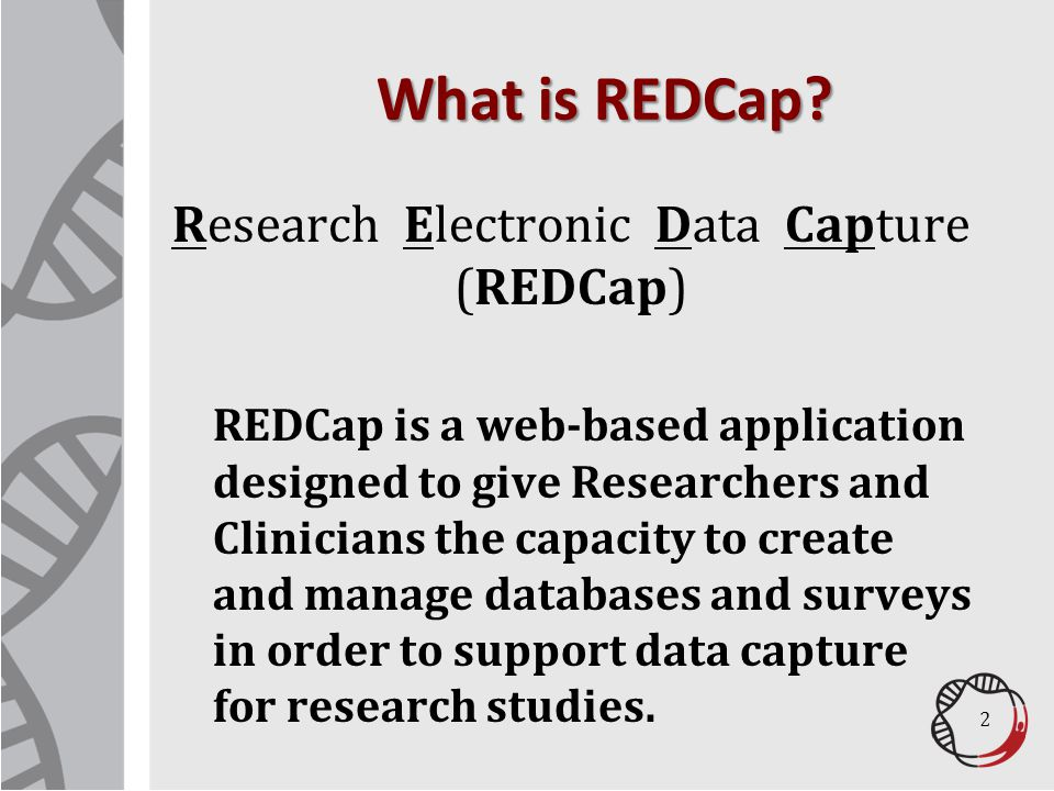 REDCap Privacy Features 13 Identified data can be flagged in the interface.
