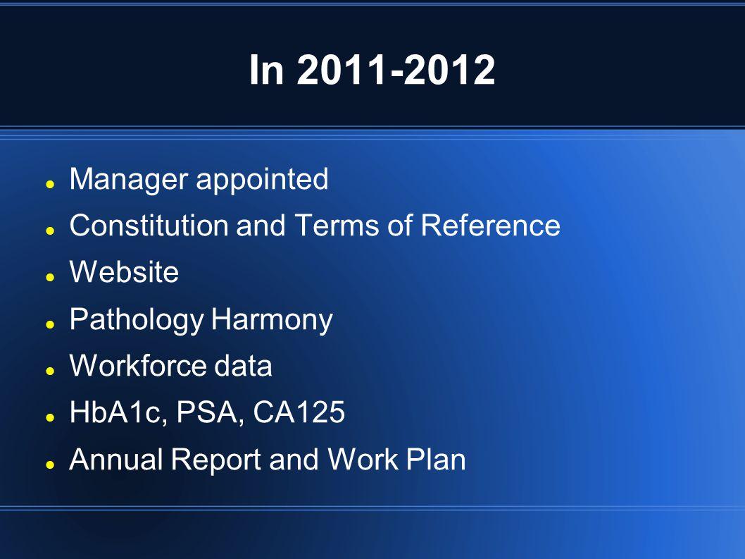 Data Feb 2012 Mar 2012 Workforce