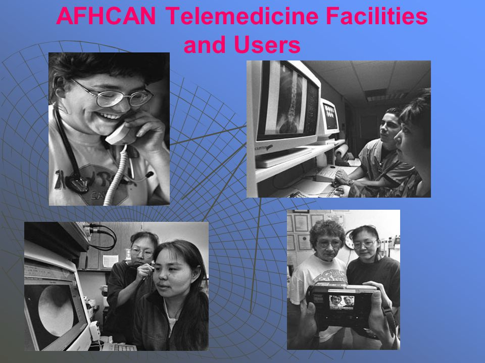 AFHCAN Telemedicine Facilities and Users