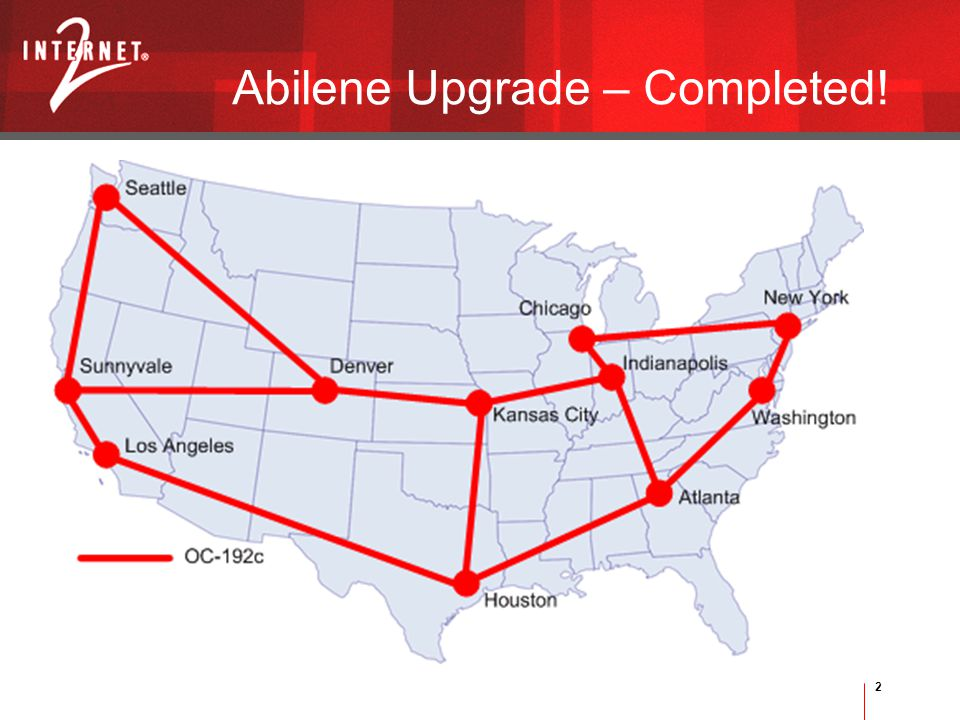2 Abilene Upgrade – Completed!