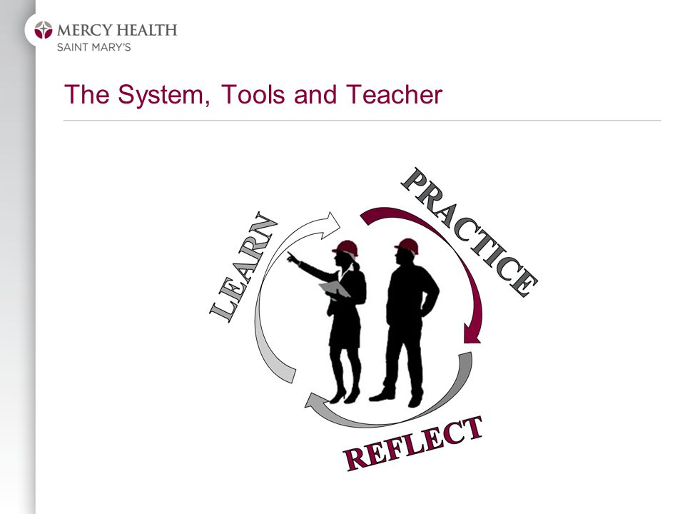 The System, Tools and Teacher