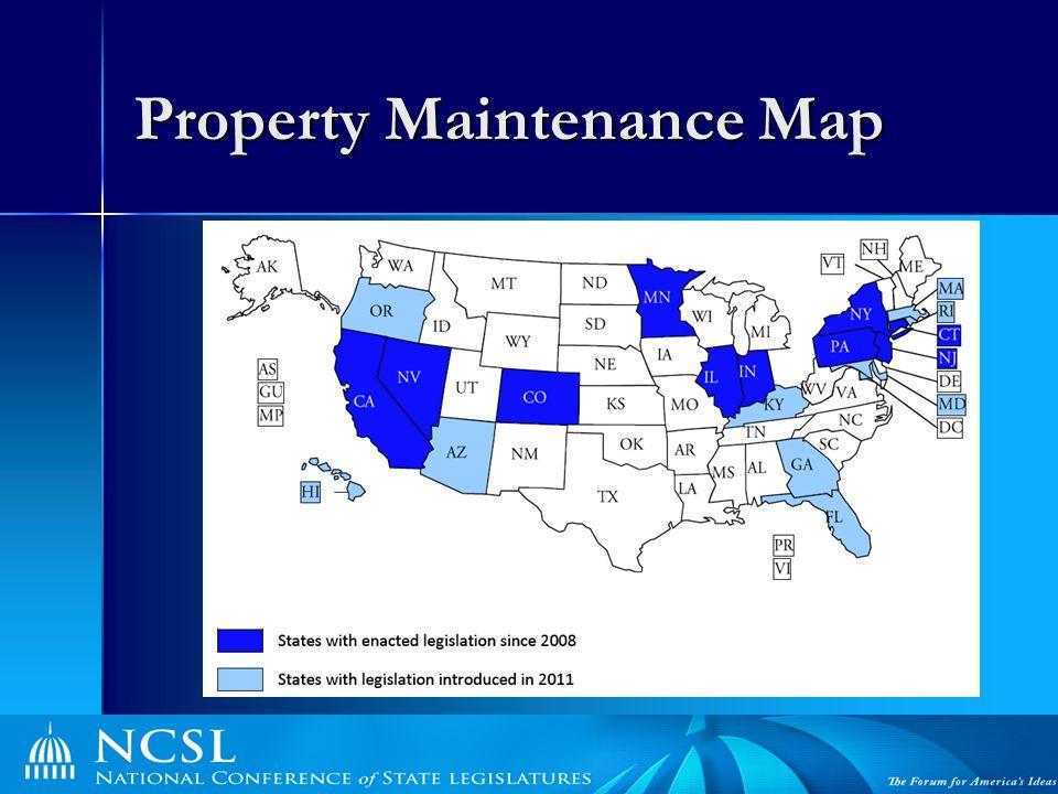 Property Maintenance Map