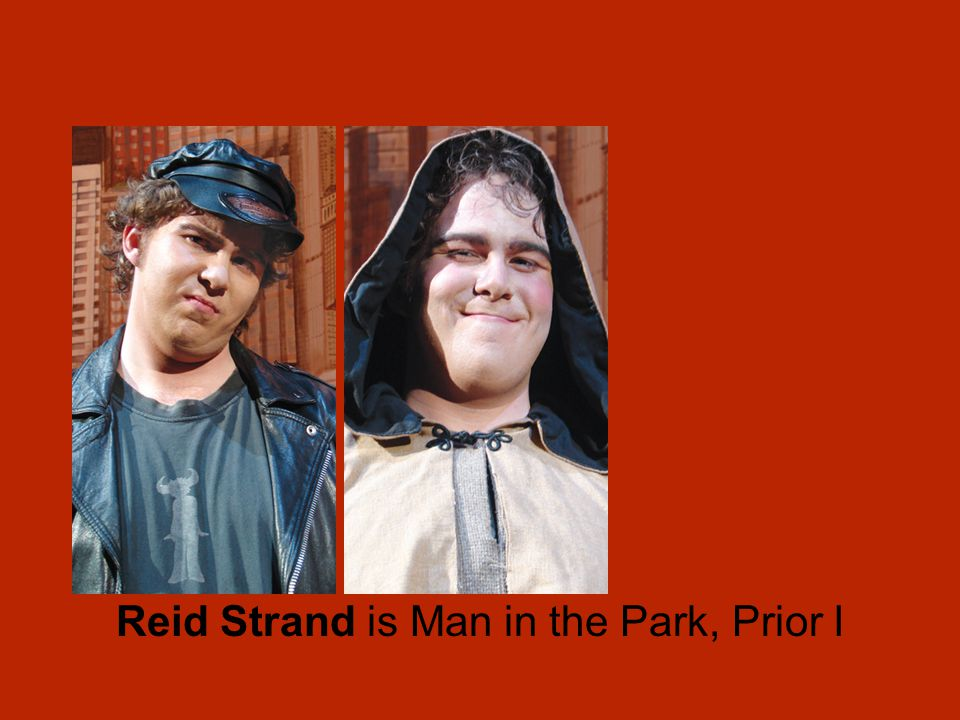 Reid Strand is Man in the Park, Prior I