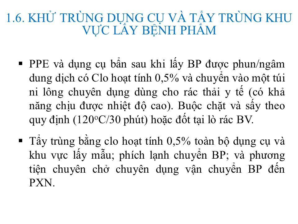 Cách đặt mã mẫu EBOV.01-14.001 EBOV + mã tỉnh + 2 số cuối của năm thu thập + số thứ tự BP Danh sách mã Tỉnh/Thành theo cuốn Danh mục hành chính Việt n