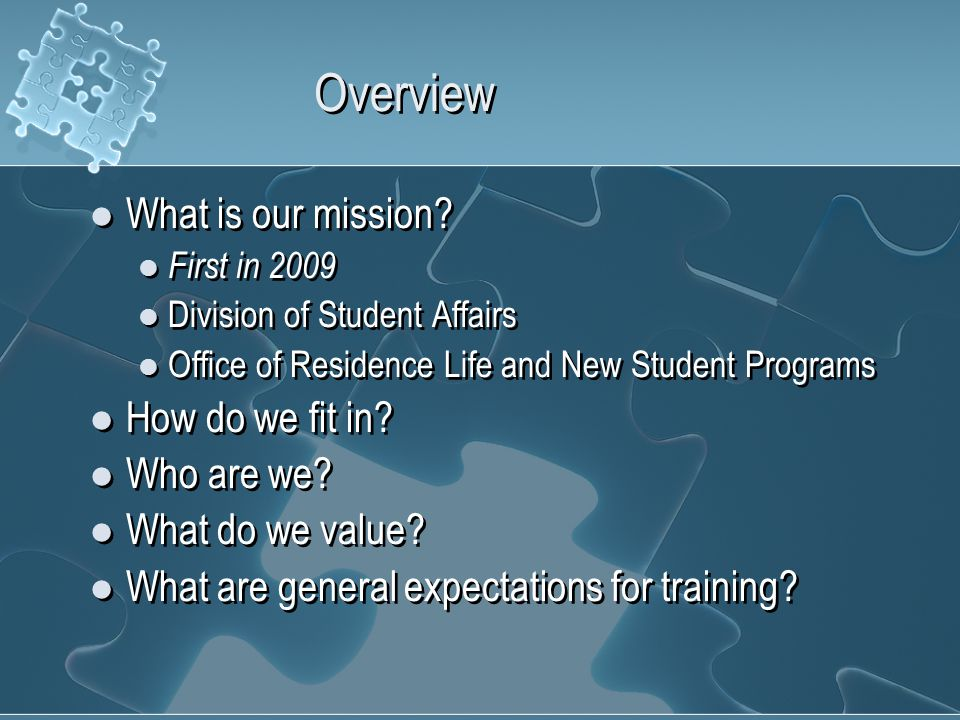 What is our mission.