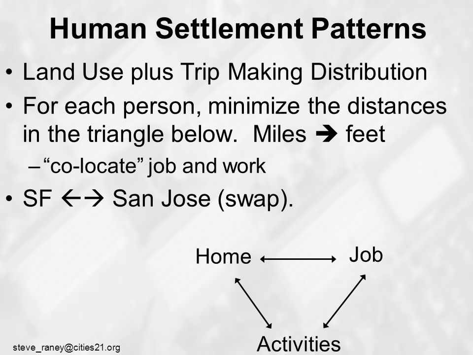 steve_raney@cities21.org Proximate Commute Have Seattle Starbucks workers trade jobs to shorten commutes (1995 pilot) EPA award: It is a really tremendous idea for companies like banks and grocery stores with a lot of interchangeable positions.