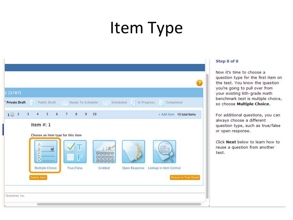Item Type