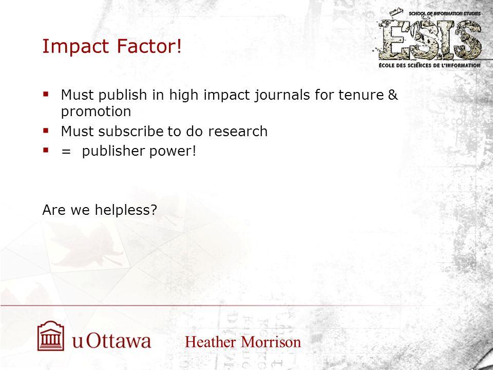 Impact Factor.
