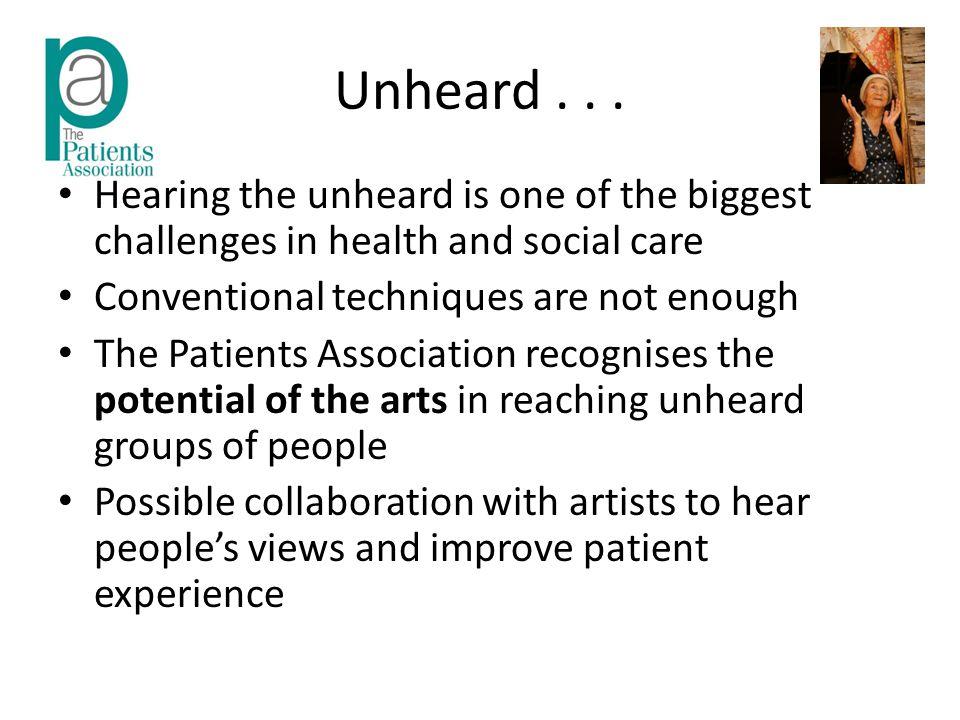 Unheard...