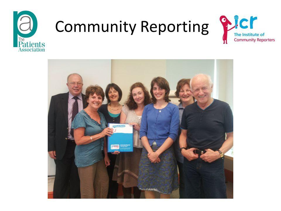 Community Reporting