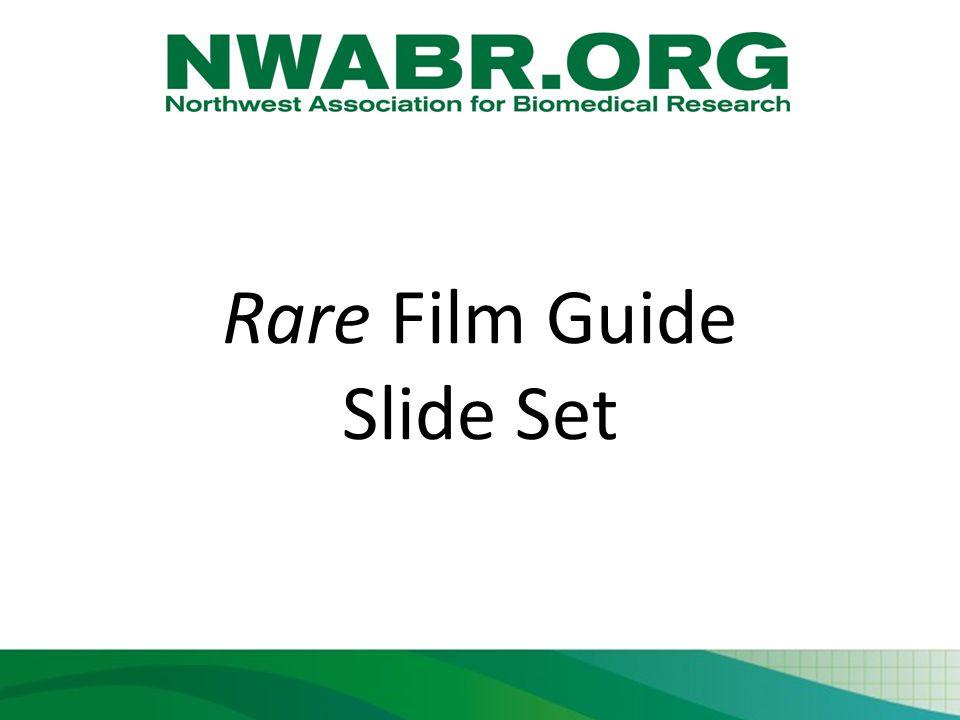 Rare Film Guide Slide Set
