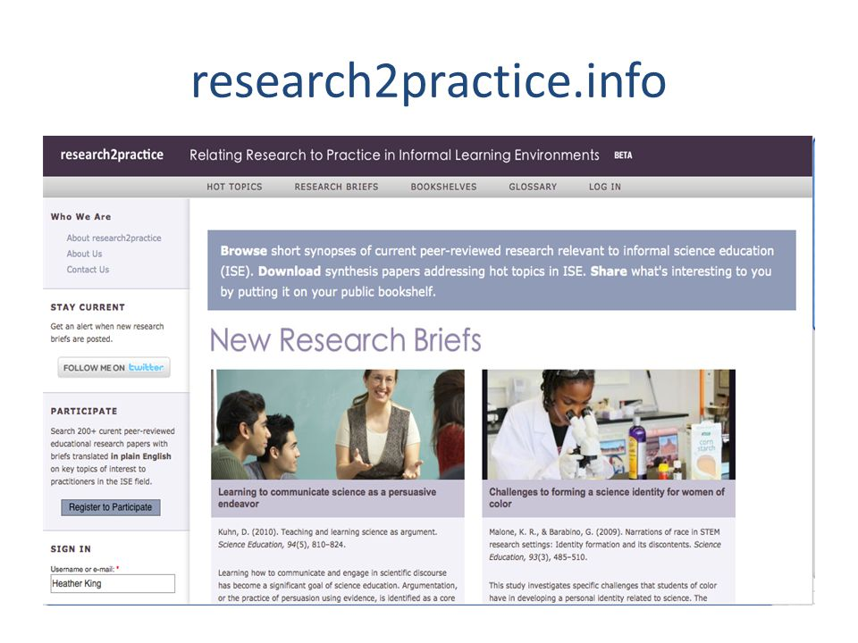 research2practice.info