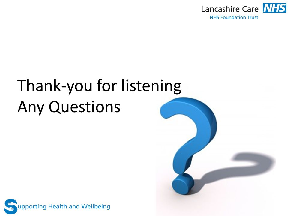 Thank-you for listening Any Questions