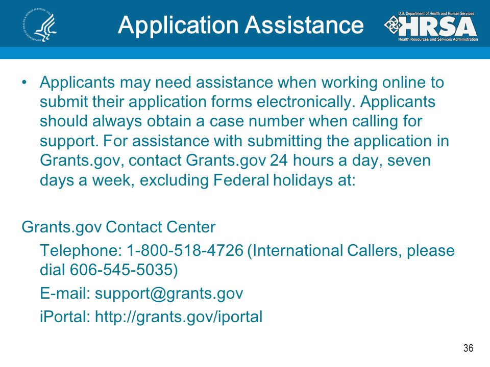36 Application Assistance Applicants may need assistance when working online to submit their application forms electronically. Applicants should alway