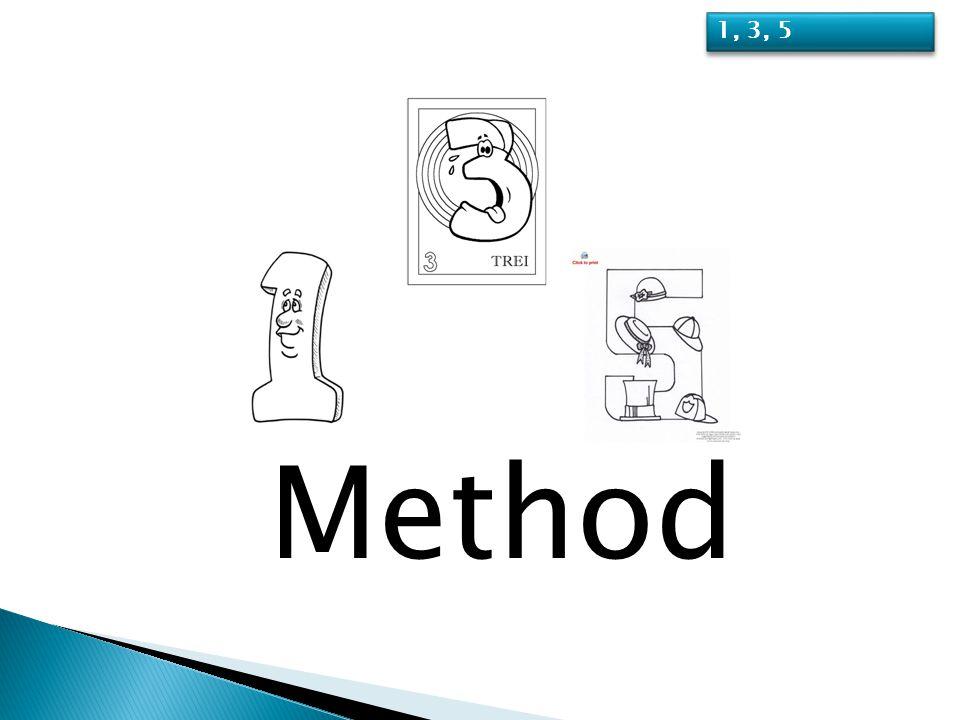 Method 1, 3, 5