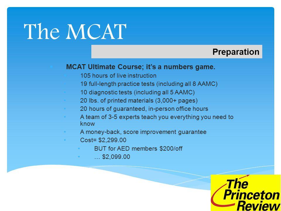 The MCAT Questions? Heather Owen HOwen@review.com 310-346-4374