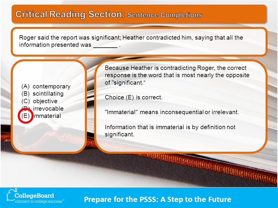 Roger said the report was significant; Heather contradicted him, saying that all the information presented was _______.