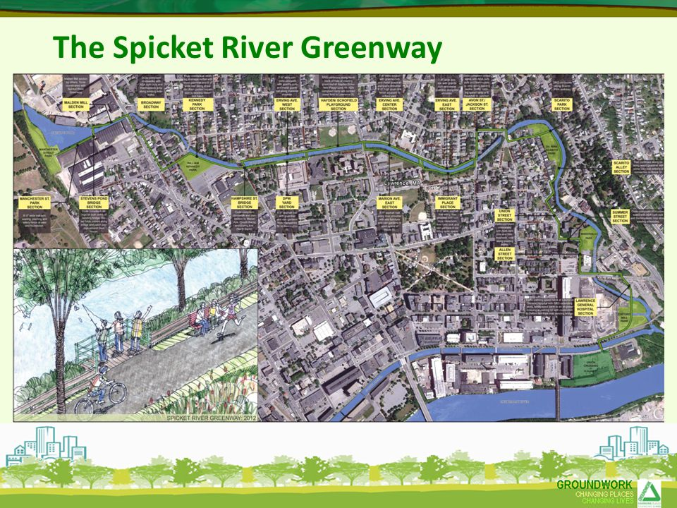 The Spicket River Greenway