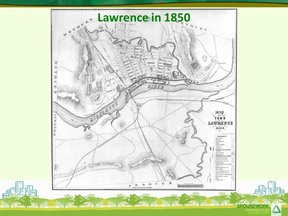Lawrence in 1850