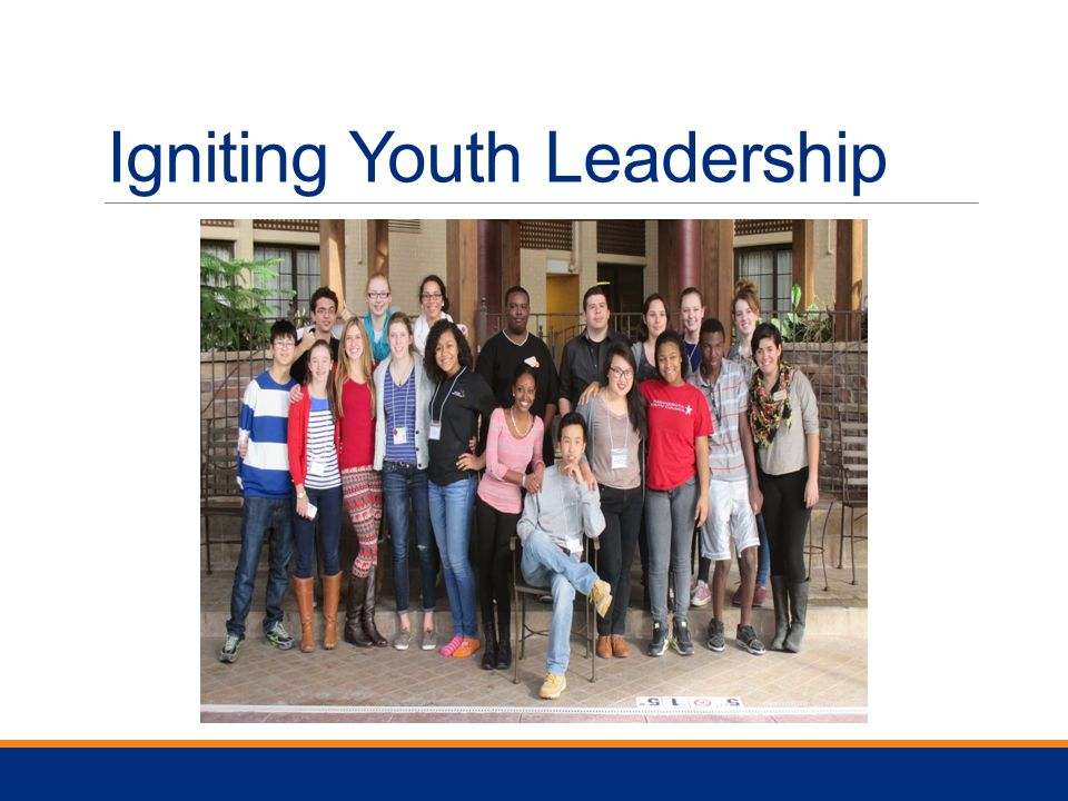Igniting Youth Leadership