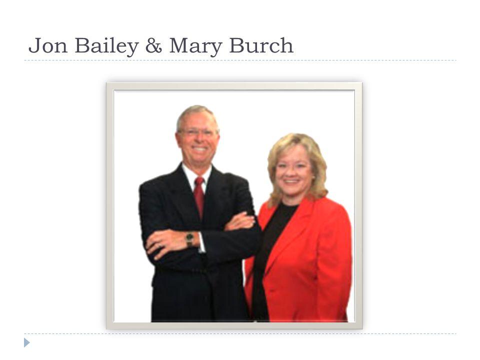 Jon Bailey & Mary Burch