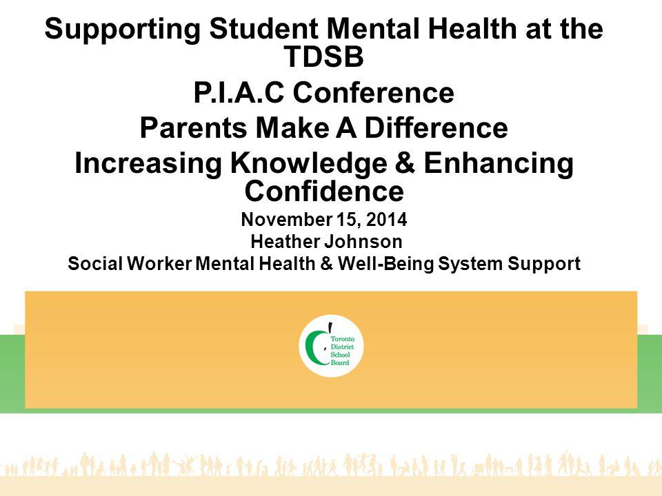 Mental Health & Well-Being Strategic Plan Creating Mentally Healthy Schools 12