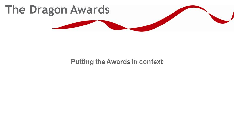 Putting the Awards in context The Dragon Awards