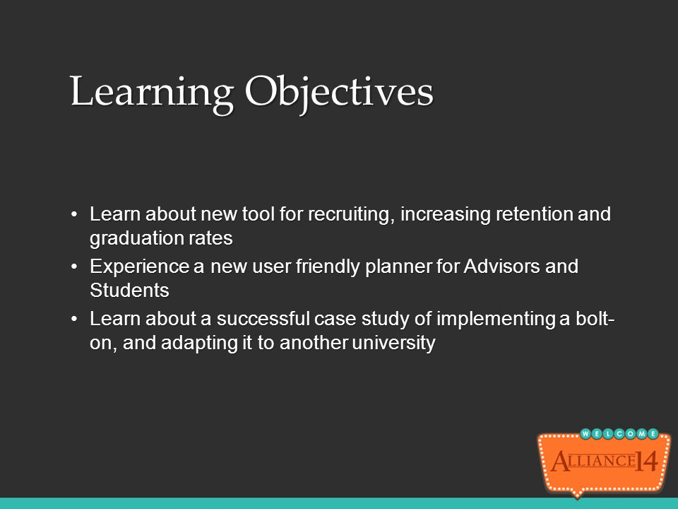 Learn about new tool for recruiting, increasing retention and graduation ratesLearn about new tool for recruiting, increasing retention and graduation
