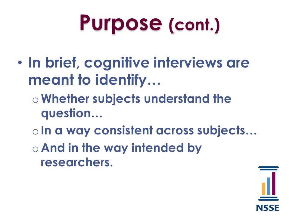 Four actions of the cognitive process: o Comprehend the question o Retrieve information o Make a judgment about relevance and accuracy o Formulate and provide a response Background
