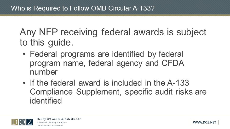 Reporting Package and Submission Reporting package Financial statements and SEFA Schedule of prior audit findings Auditor's opinion which must include either combined or separately An opinion (or disclaimer) on whether the financial statements are presented fairly in all material respects in accordance w/ GAAP An opinion on whether the SEFA is presented fairly in all material respects A report on compliance for major programs and internal control over compliance