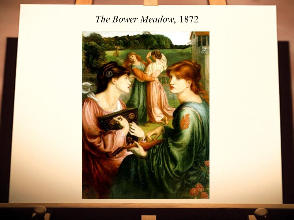 The Bower Meadow, 1872