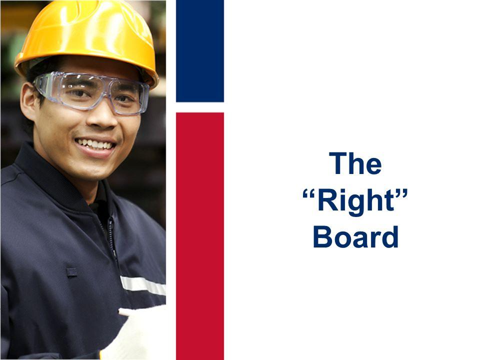 """The """"Right"""" Board"""