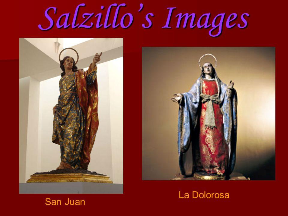 Salzillo's Images San Juan La Dolorosa