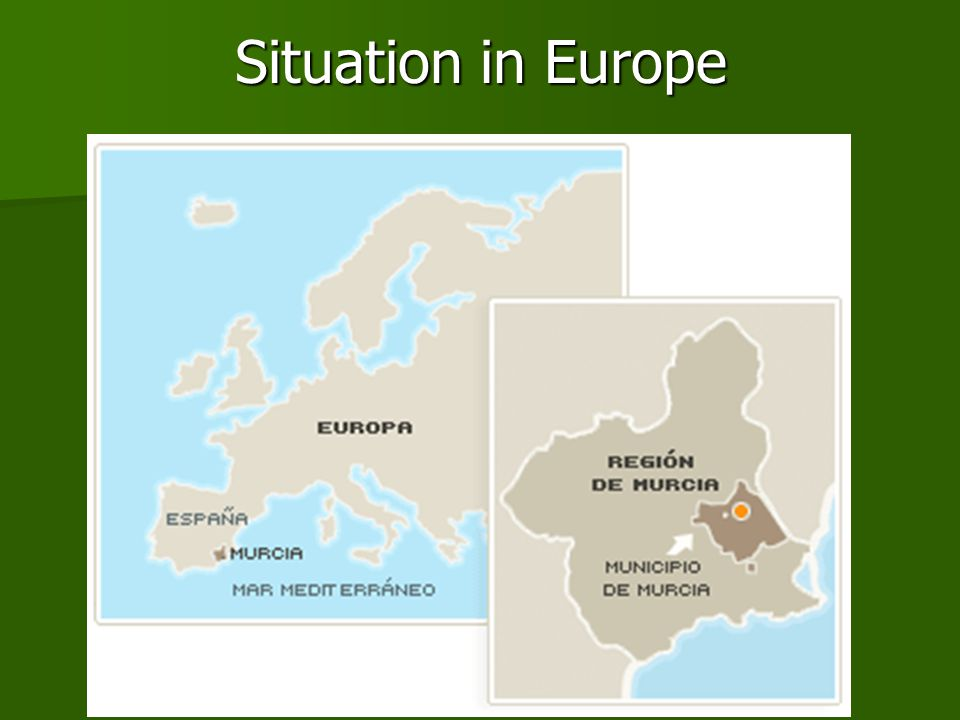 Situation in Europe