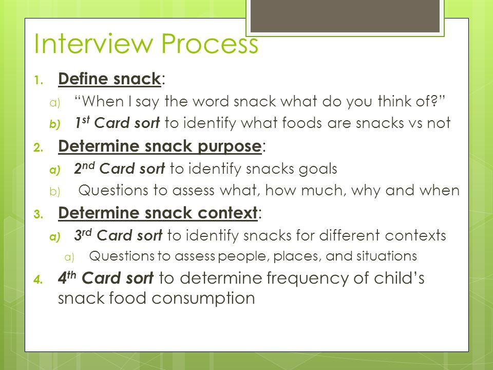 Interview Process 1.