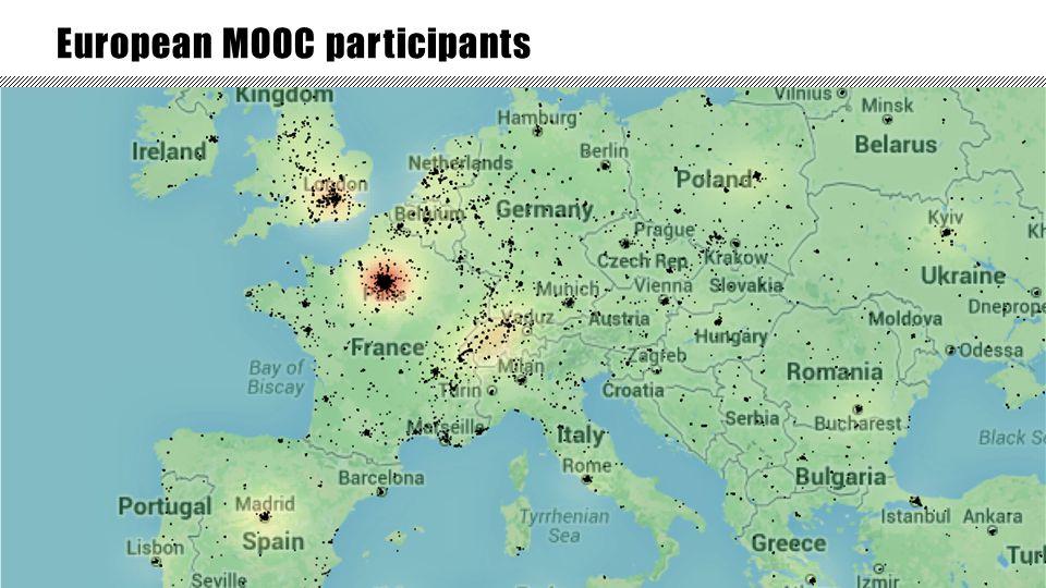 11 European MOOC participants