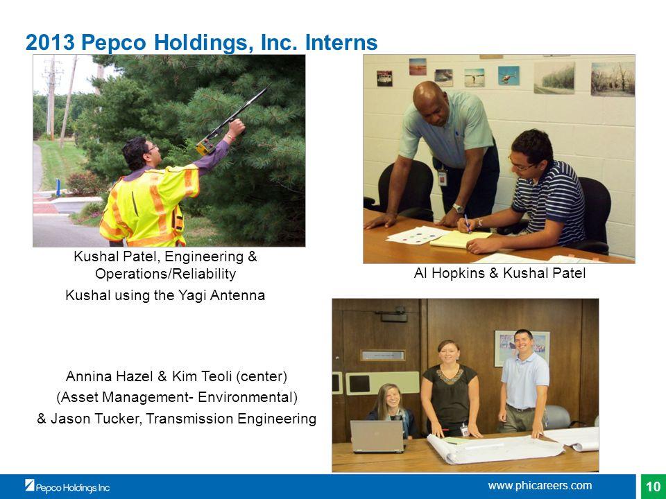 10 2013 Pepco Holdings, Inc.