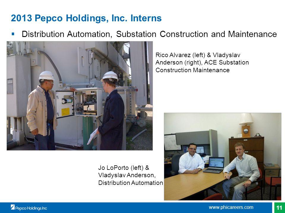 11 2013 Pepco Holdings, Inc.